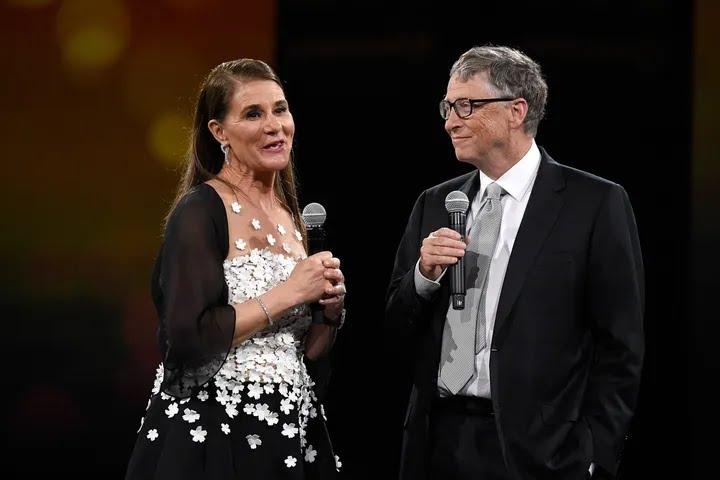 Melinda Gates and Bill Gates